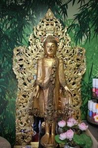 Traditionelle Thai Buddha Figur