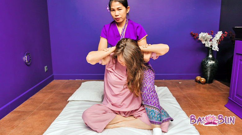 Thai traditionelle Massage
